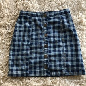 Cute plaid skirt from Urban Outfitters